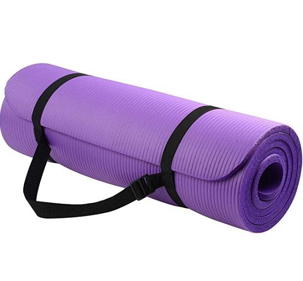 yoga mat - yoga exercises for hemorrhoids