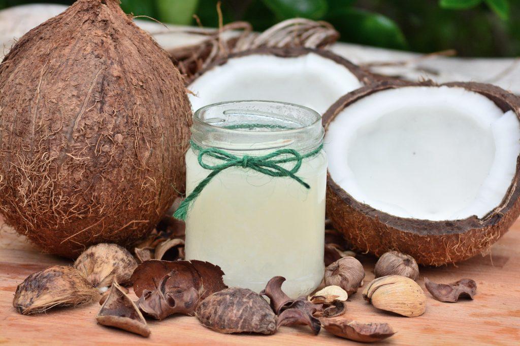 Coconut oil on anus